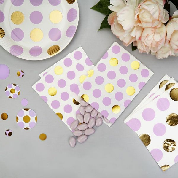 Pattern Works Lilac Dots Sweet Bags (25)